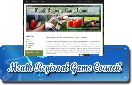 Meath Regional Game Council Website